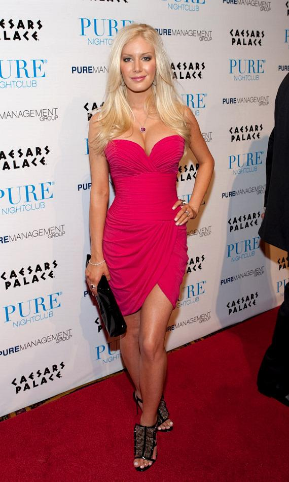 Heidi Montag at PURE Nightclub