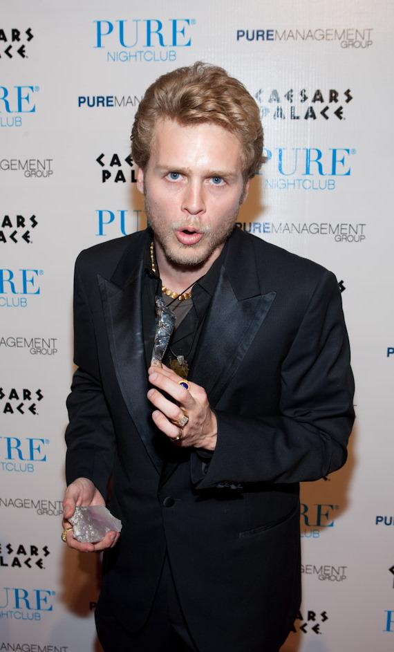Spencer Pratt at PURE Nightclub