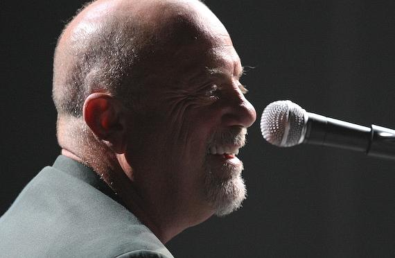 Billy Joel performs at MGM Grand Garden Arena