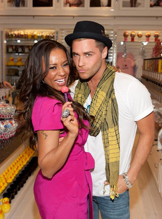 Mel B and Josh Strickland