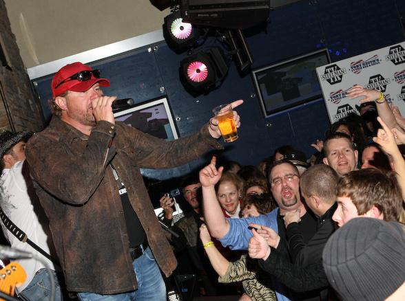 Toby Keith performs at TK Steelman clothing line launch party at Harrah