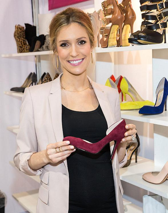 Kristin Cavallari Promotes Chinese Laundry Shoes at Magic Market Week in Las Vegas
