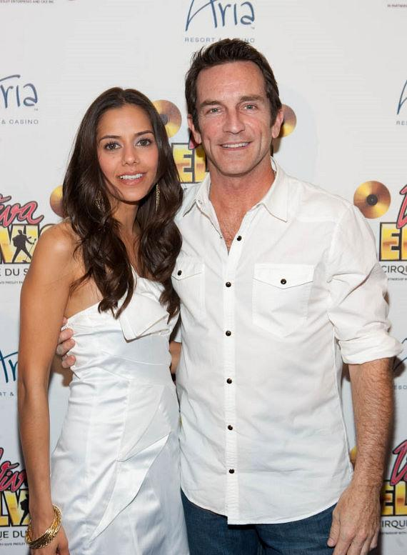 Sheetal Sheth and Jeff Probst