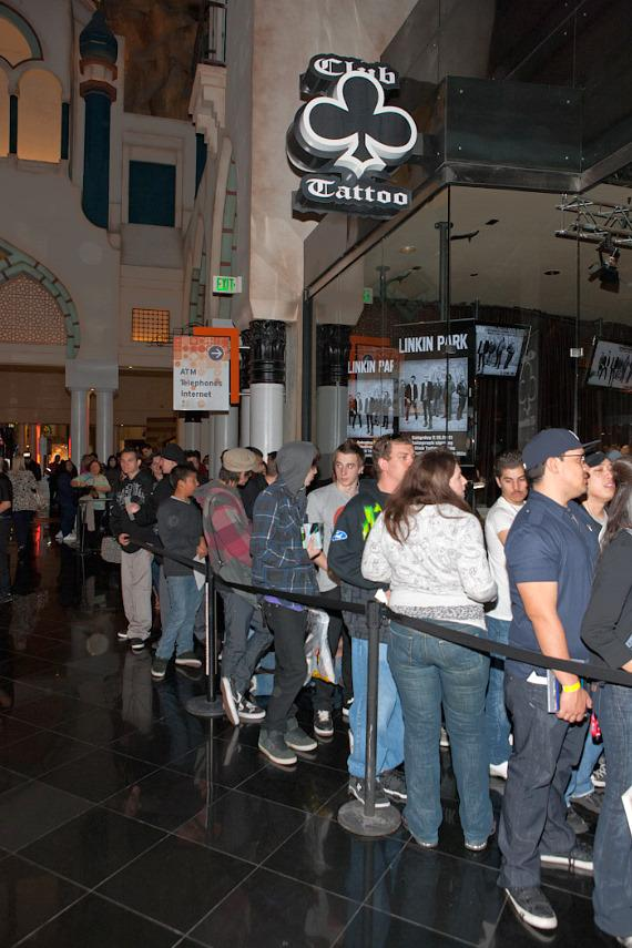 Linkin Park Autograph Signing at Club Tattoo at Miracle Mile Shops
