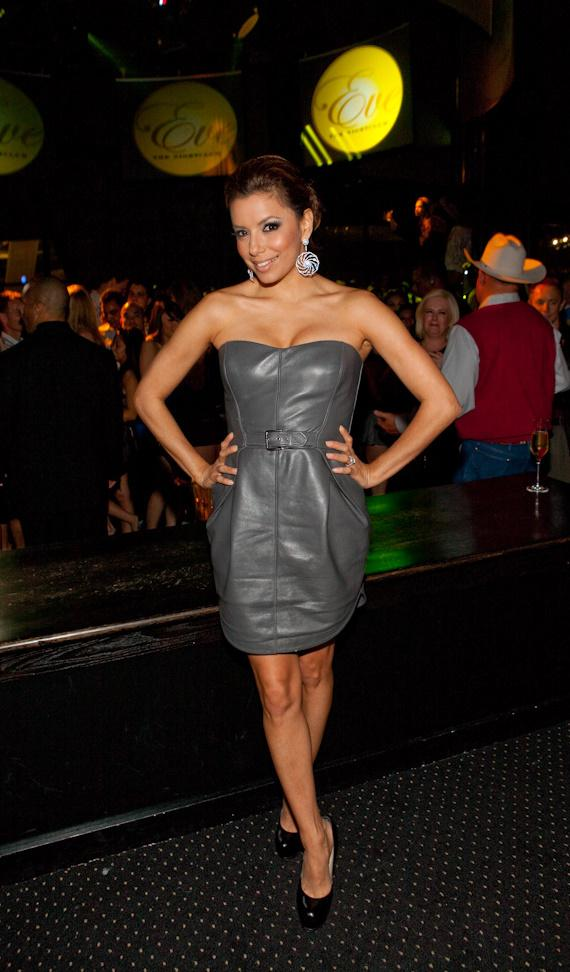Eva Longoria Parker at Eve Nightclub