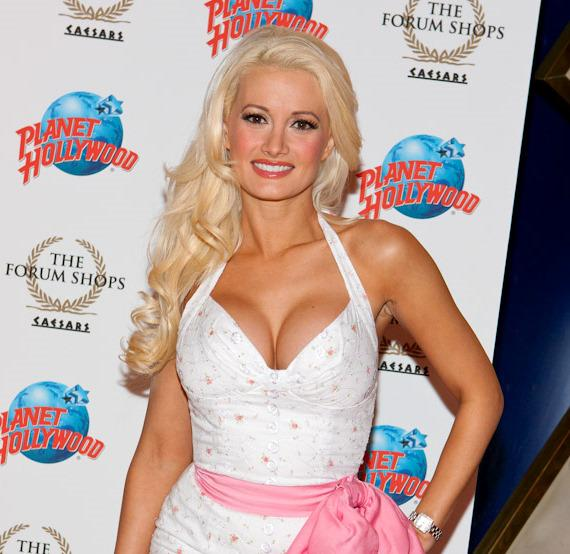 Holly Madison at Planet Hollywood