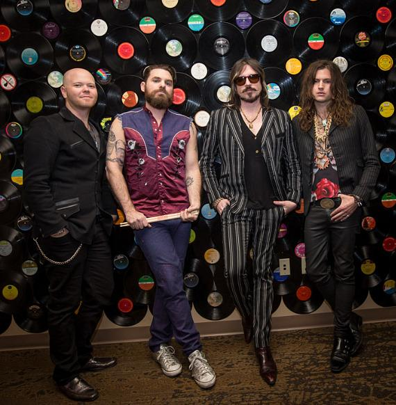 Rival Sons at Vinyl at Hard Rock Hotel in Las Vegas