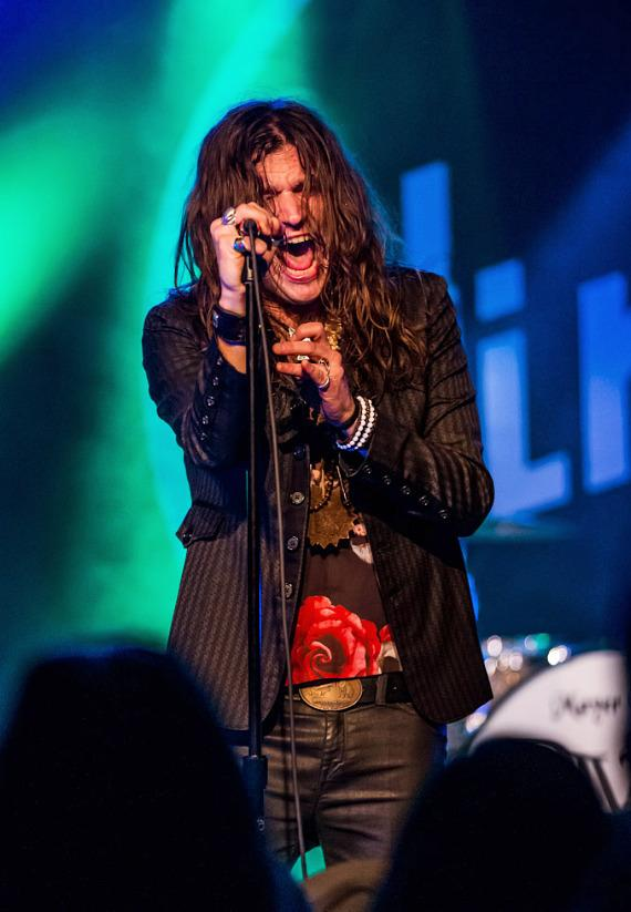 Rival Sons perform at Vinyl at Hard Rock Hotel in Las Vegas