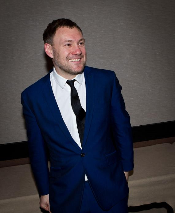 David Gray backstage at The Chelsea at The Cosmopolitan of Las Vegas