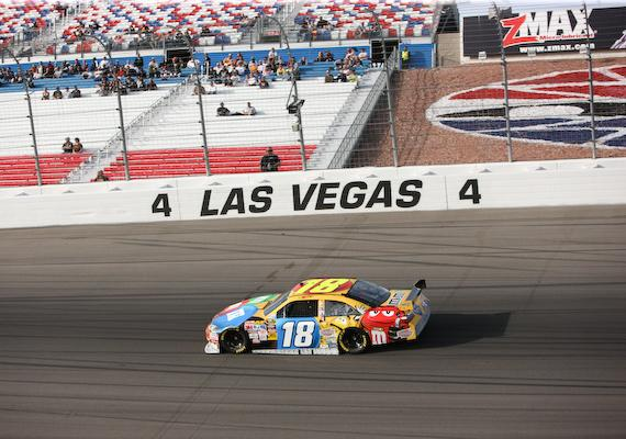 #18 - Kyle Busch qualifies for first place but will start last due to engine change