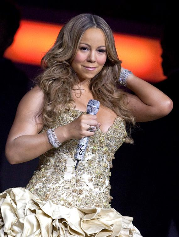 Mariah Carey performs at The Colosseum at Caesars Palace