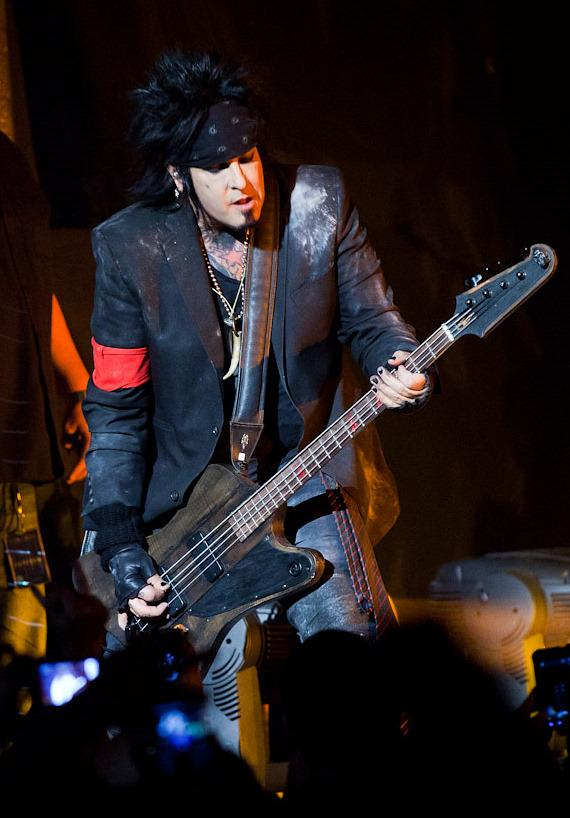 Motley Crue perform at The Joint at Hard Rock Hotel in Las Vegas