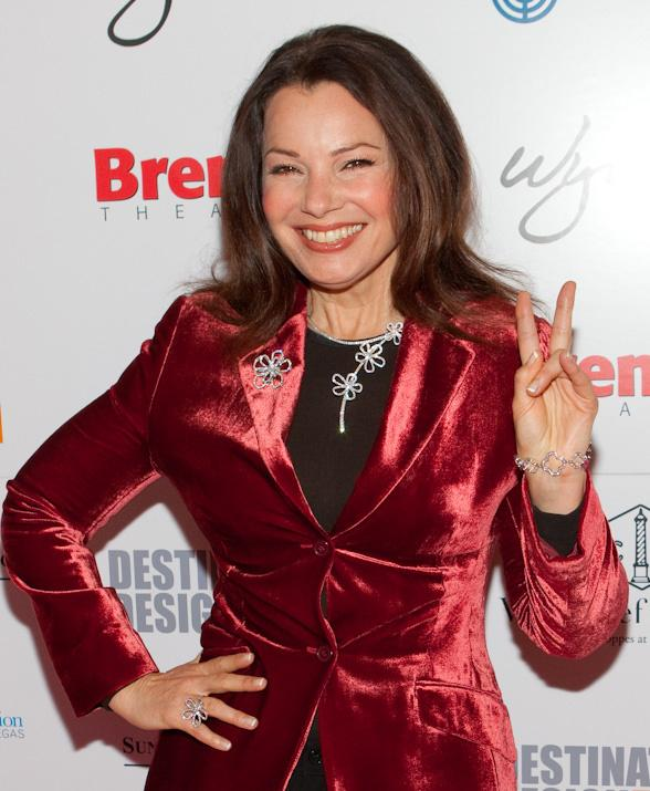 Fran Drescher at Wynn Las Vegas Actress and activist Fran Drescher appeared