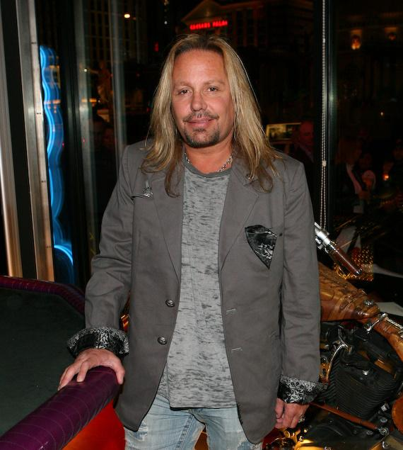 Vince Neil inside Vince Neil Ink