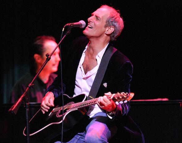 Michael Bolton performs at the House of Blues