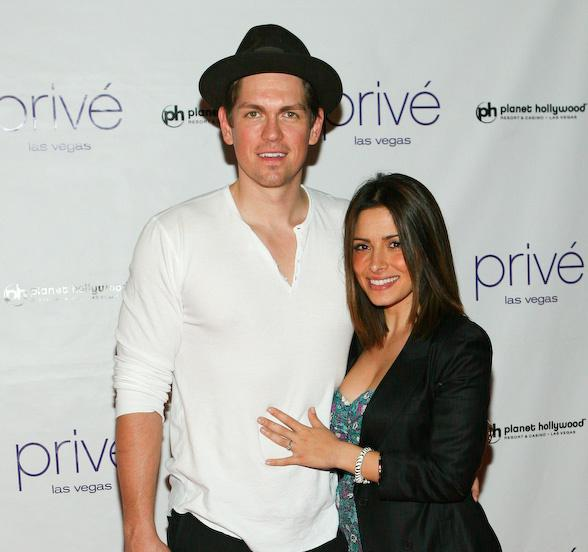 'Life' Actress Sarah Shahi Celebrates Engagement to Fellow Actor Steve Howey at Privé