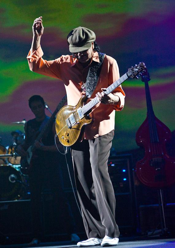 Carlos Santana at The Joint