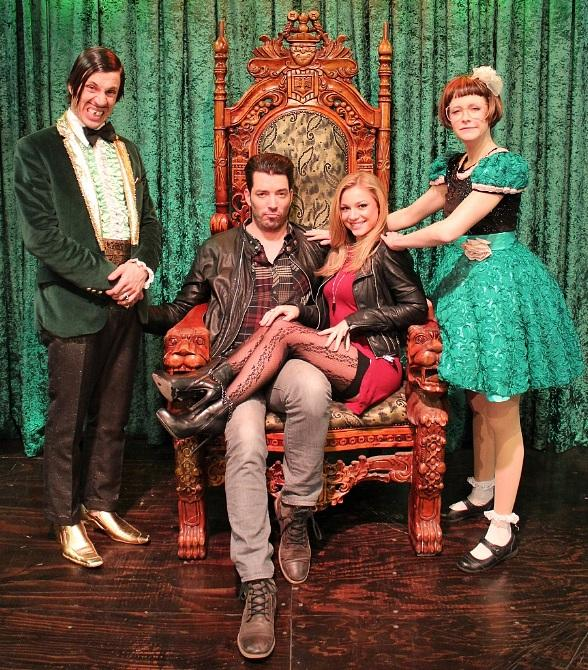 Property Brothers Star Jonathan Scott Attends ABSINTHE at Caesars Palace