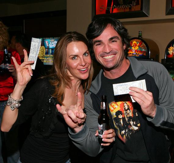 Fans show their tickets to The Joint's final show starring Mötley Crüe