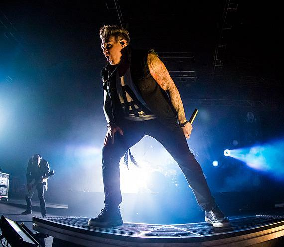 Papa Roach performs at The Joint at Hard Rock Hotel & Casino in Las Vegas