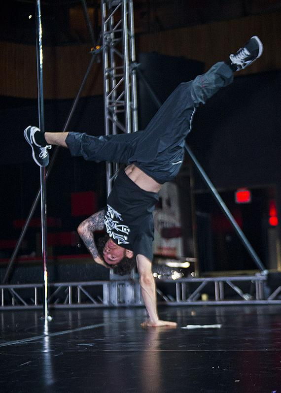 "Etienne (ATN) Carriera, member of ""BattleBorn"" (#1 BBoy Dance Group in the USA, #2 in the World)"