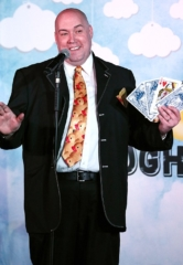 """Adam London Celebrates 5 Years at the D Casino Hotel and Kicks Off His Year-Long """"I Give A Duck"""" Charity Campaign"""