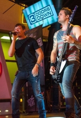 3 Doors Down Rocks Vegas on the 3rd Street Stage at the D Las Vegas