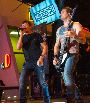3 Doors Down Rocks Vegas on the 3rd Street Stage at the D Casino Hotel