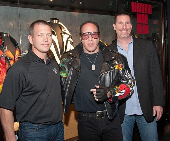 Jody Lake, Andrew Dice Clay and Paul Davis