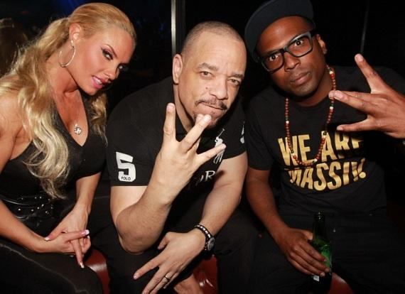 Coco, Ice-T and DJ 12th Planet