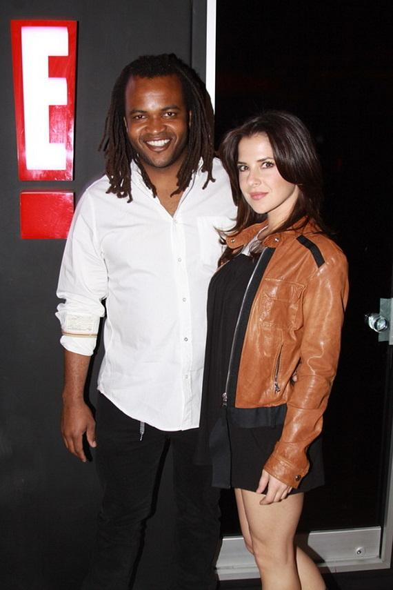 Sal Masekela and Kelly Monaco at Body English