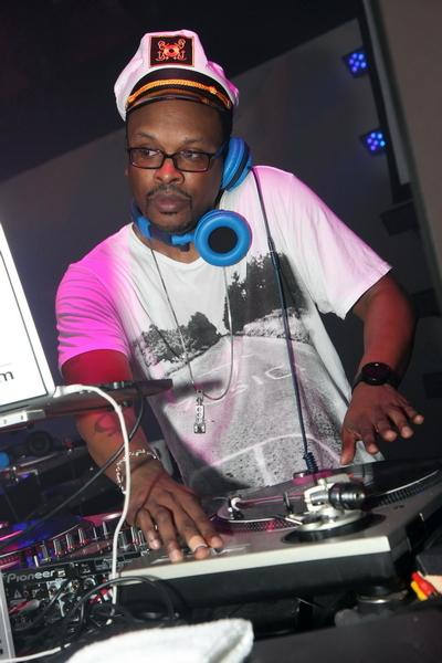 DJ Jazzy Jeff at Rain Nightclub (Photo credit: Joe Fury)