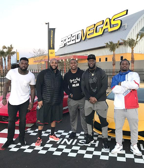Tennessee Titans Test their Need for Speed at SPEEDVEGAS