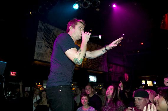 Mark McGrath at Wasted Space