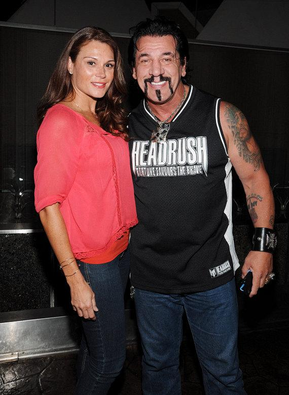 Chuck Zito with friend Juliette Marie