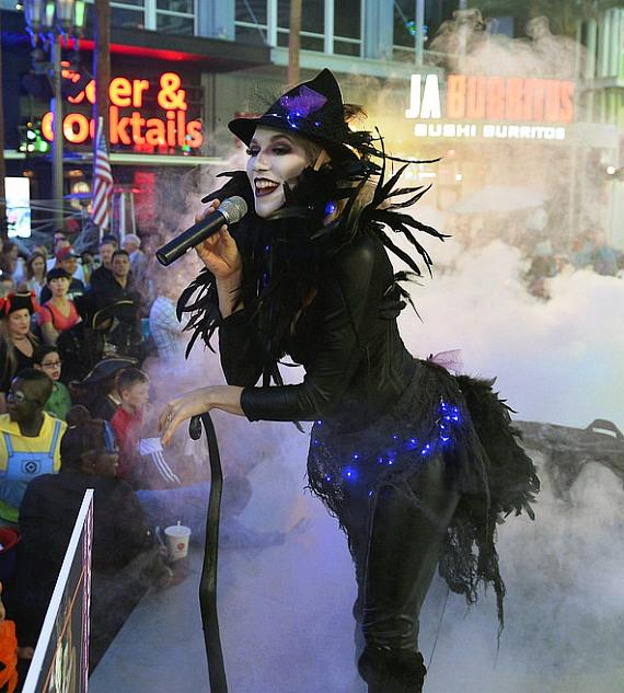 The LINQ Promenade and The High Roller Celebrate Halloween in Las Vegas