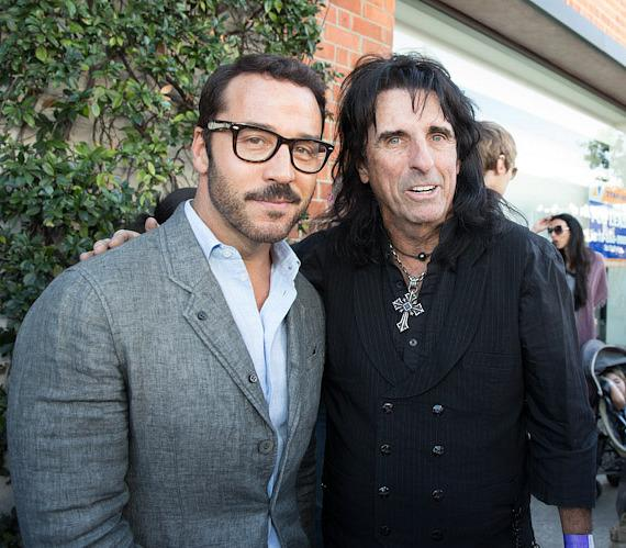Jeremy Priven and Alice Cooper