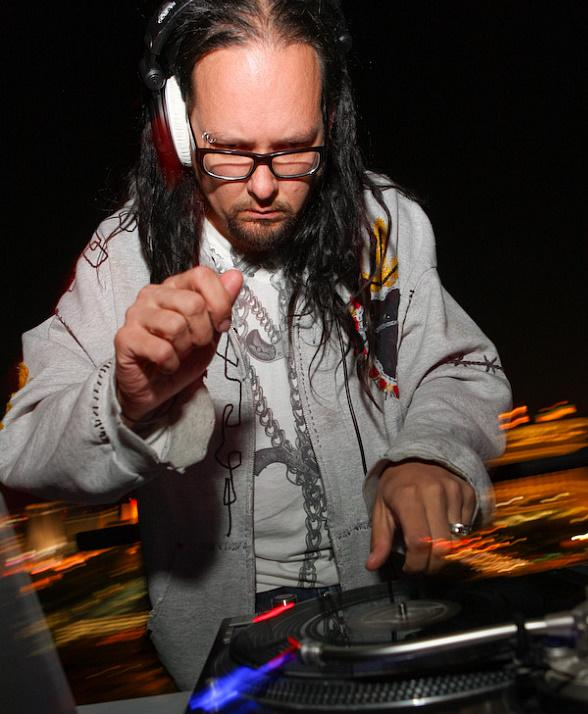 Jonathan Davis of KORN at VooDoo Lounge at the Rio in Las Vegas