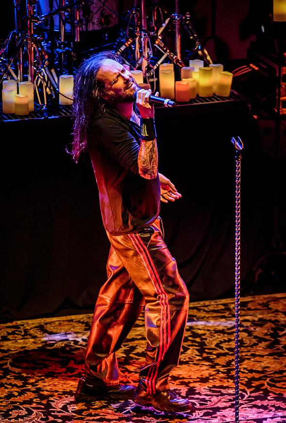 Korn performs at Brooklyn Bowl Las Vegas in The LINQ Promenade