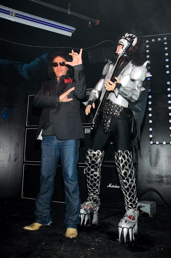 Grand opening of KISS by Monster Mini Golf in Las Vegas