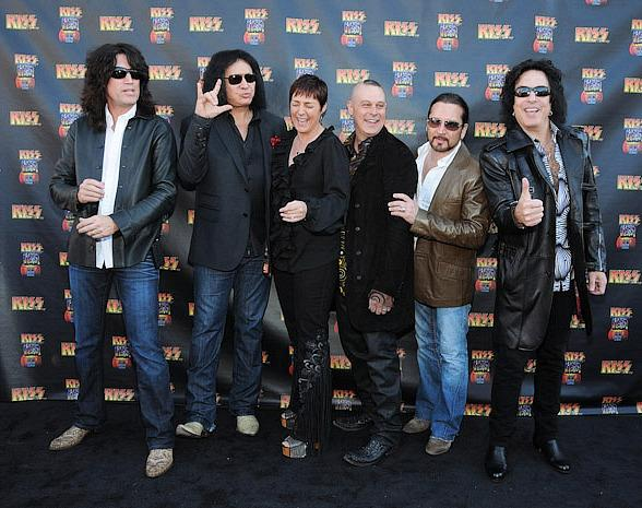 Celebrities Join KISS Members for Grand Opening of KISS by Monster Mini Golf in Las Vegas