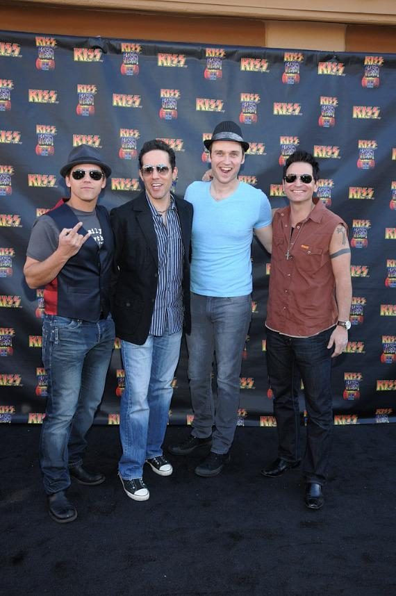 Jersey Boys at KISS by Monster Mini Golf Grand Opening in Las Vegas