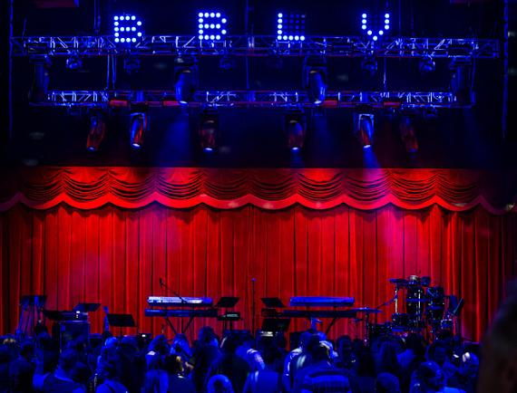 Stage at Brooklyn Bowl Las Vegas
