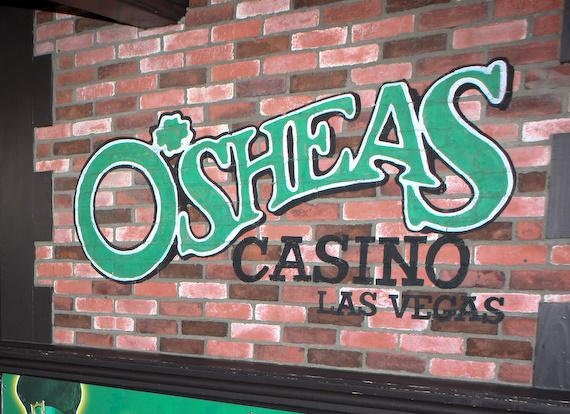 O'Sheas Casino in Las Vegas