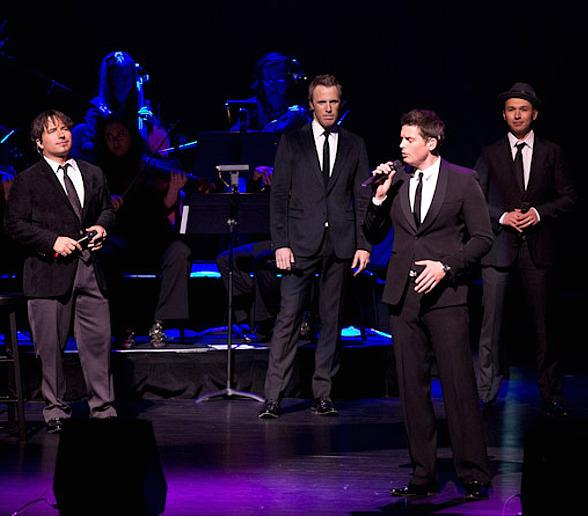The Canadian Tenors Perform at Reynolds Hall at The Smith Center for Performing Arts