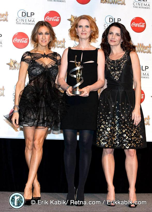 Sarah Jessica Parker, Cynthia Nixon, Kristin Davis