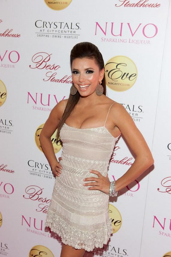 Eva Longoria celebrates her birthday at Eve Nightclub