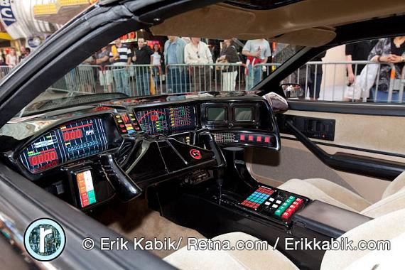 Interior of KITT