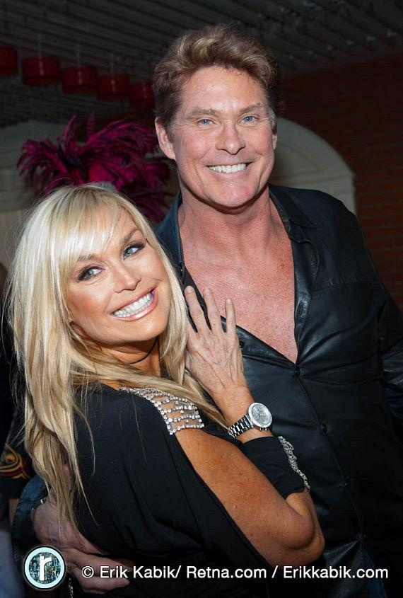 Catherine Hickland and David Hasselhoff