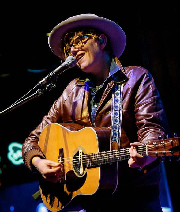 Brett Dennen Performs at Brooklyn Bowl Las Vegas at The LINQ in Las Vegas